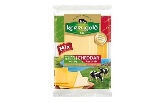 Kerrygold original irischer Cheddar-Mix / Ornua Deutschland