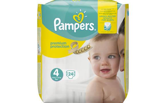 Baby- und Kinderprodukte - Gold: Pampers Premium Protection / Procter & Gamble