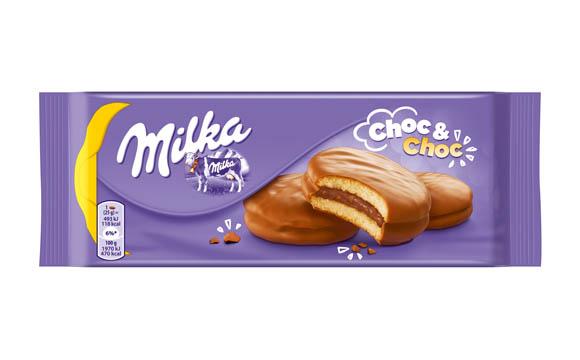 Süßgebäck - Gold: Milka Choc & Choc / Mondelez Deutschland Services