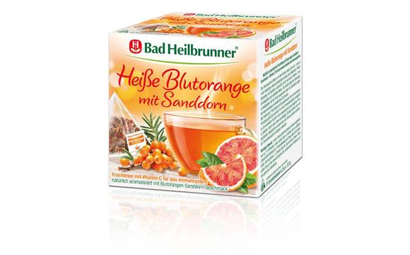 Freiverkäufliche Arzneimittel - Gold: Bad Heilbrunner Heiße Blutorange mit Sanddorn / Bad Heilbrunner Naturheilmittel