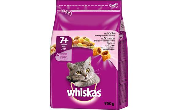 Tiernahrung - Gold: Whiskas Junior Trockennahrung / Mars Petcare Deutschland