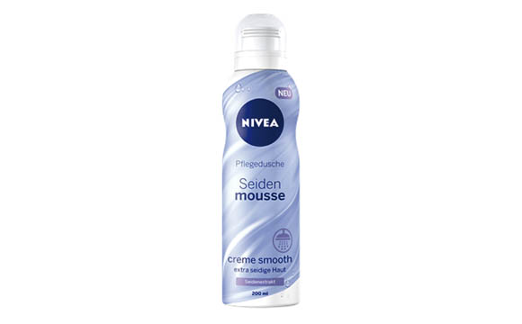 Nivea Seiden-Mousse Pflegedusche / Beiersdorf