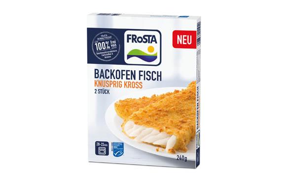 Frosta Backofen- & Pfannen Fisch / Frosta Tiefkühlkost