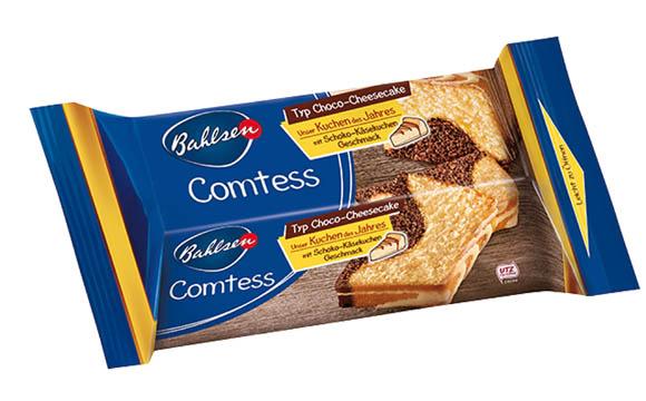 """Comtess """"Unser Kuchen des Jahres"""" Choco-Cheesecake / Bahlsen"""