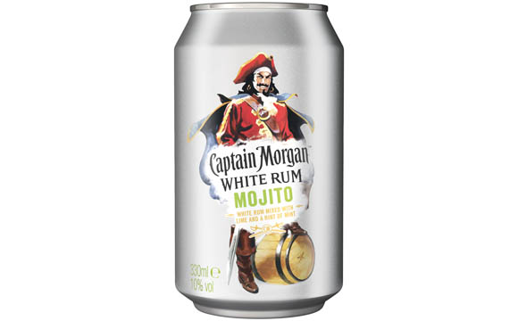 Captain Morgan White Rum Mojito / Diageo Germany