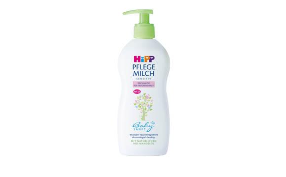 Baby- und Kinderprodukte - Silber: Hipp Babysanft Pflege Milch / Hipp
