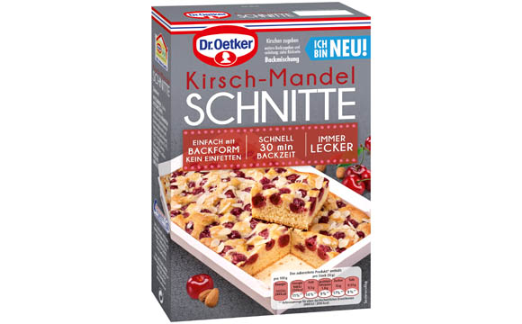 Dr. Oetker Backmischungen Kuchenschnitten / Dr. August Oetker Nahrungsmittel