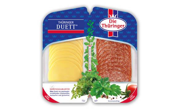 Fleisch und Wurst - Silber:Thüringer Duett / Thüringer Fleisch- und Wurstspezialitäten