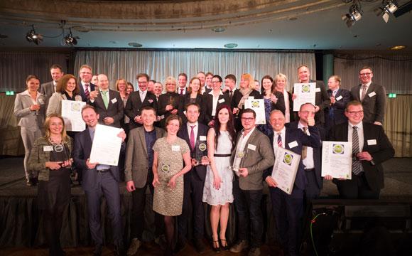 Preisträger in Berlin geehrt