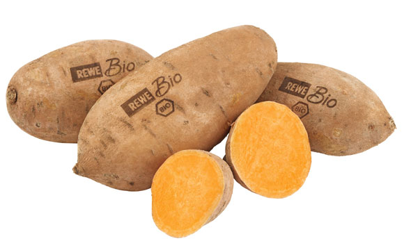 Lasert Bio-Obst und -Gemüse