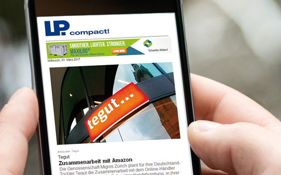 Newsletter und News-App:LPcompact und update