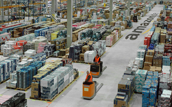 Verdi: Droht Amazon mit Streiks