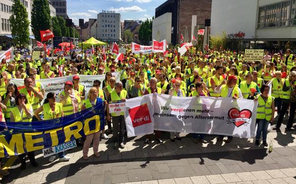 Streik: Verdi macht Druck