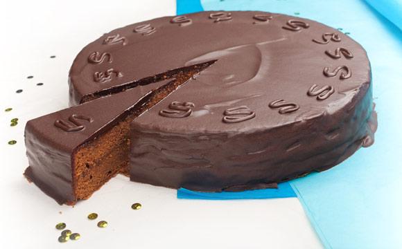 Testet Kuchen-Lieferdienst