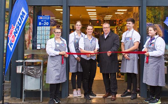 Konsum Dresden: Zweiter Junior-Markt eröffnet