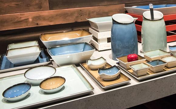 Non Food: Glas, Porzellan, Keramik schwach