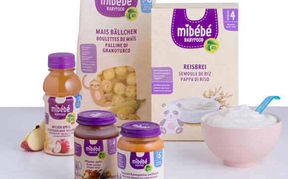 Bio-Eigenmarke für Babies