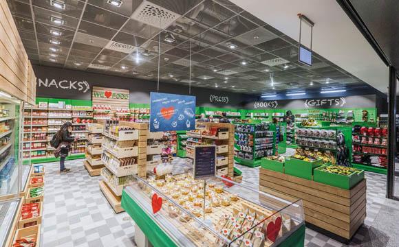 Hub-Convenience-Store:Frankfurter Flughafen