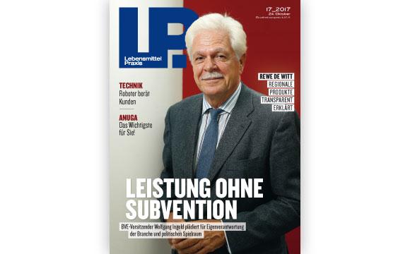 Ausgabe 17 vom 24. Oktober 2017: Leistung ohne Subvention