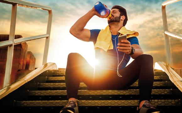 Schlank und fit