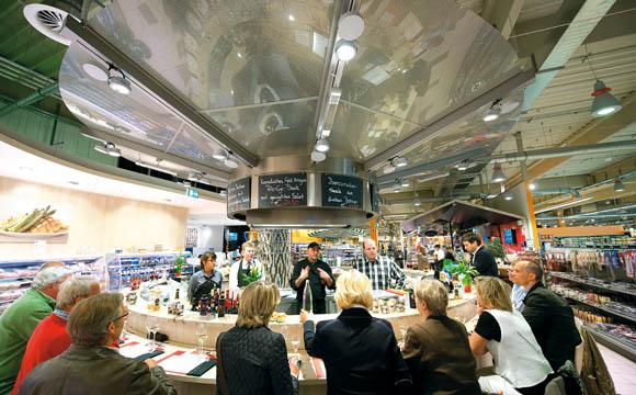 Sterneküche im Supermarkt?