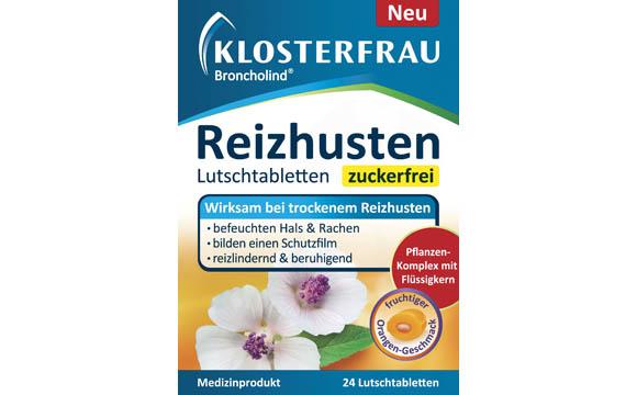 Klosterfrau Broncholind Reizhusten Lutschtabletten / MCM Klosterfrau Vertriebsgesellschaft