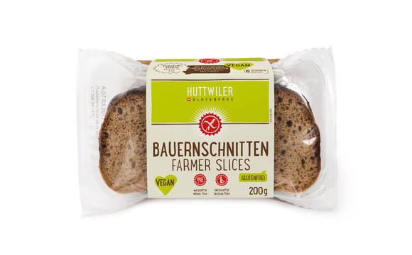 Huttwiler glutenfree Bauernschnitten / Jowa AG