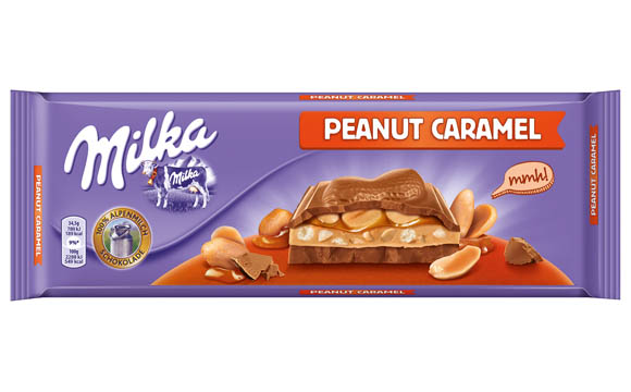 Milka Großtafel Peanut Caramel / Mondelez Deutschland