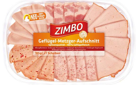 Fleisch und Wurs - Bronze: Zimbo Geflügel Metzger Aufschnitt / Bell Deutschland