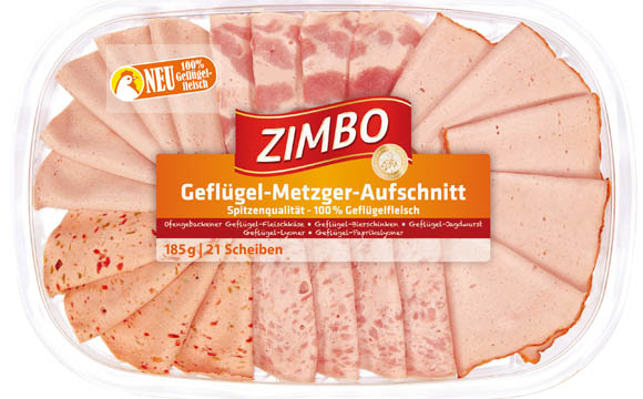 Zimbo Geflügel Metzger Aufschnitt / Bell Deutschland