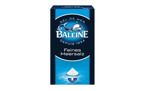 La Baleine Meersalz / Importhaus Wilms / Impuls GmbH
