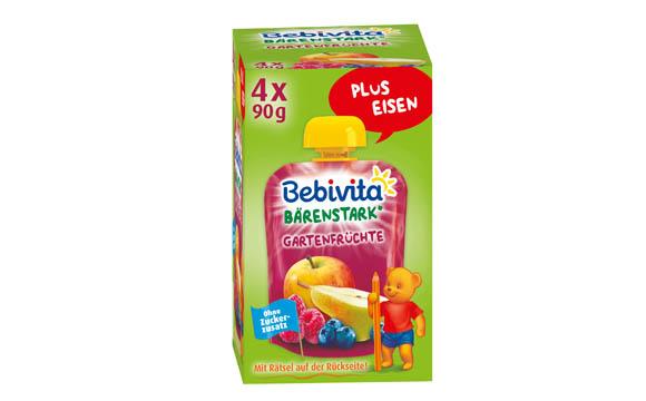 Baby- und Kinderprodukte - Bronze: Bebivita Bärenstark plus Eisen / Hipp