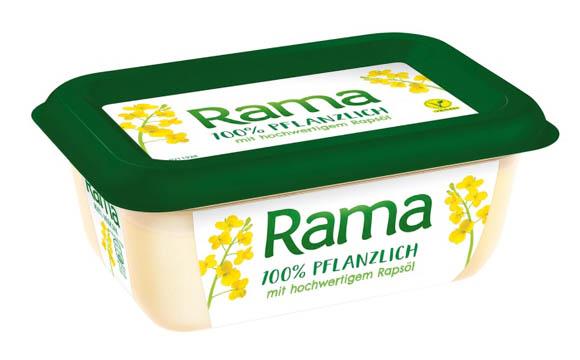 Rama 100 % Pflanzlich / Unilever Deutschland