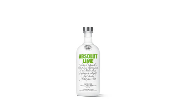 Spirituosen - Gold: Absolut Vodka Lime / Pernod Ricard Deutschland