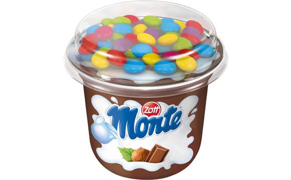 Joghurt und Desserts - Gold: Zott Monte Top Cup / Zott