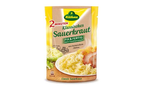 Kühne Sauerkraut Fix & Fertig / Carl Kühne