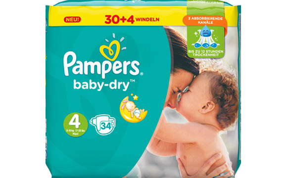 Pampers Baby-Dry / Procter & Gamble