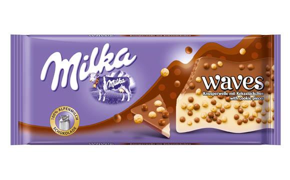 Schokoladenwaren - Gold: Milka Waves / Mondelez Deutschland