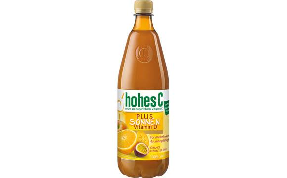 Hohes C Plus Sonnen-Vitamin D / Eckes-Granini Deutschland