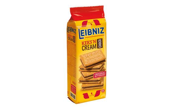 Süßgebäck - Gold: Leibniz Keks'n Cream Choco / Bahlsen