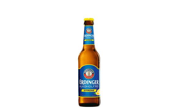 Erdinger Alkoholfrei Zitrone bzw. Grapefruit / Erdinger Weißbräu