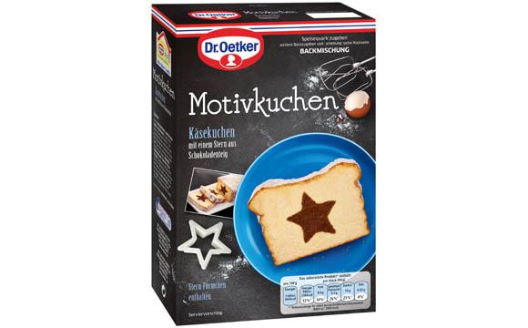 Dr. Oetker Backmischung Motivkuchen / Dr. August Oetker Nahrungsmittel