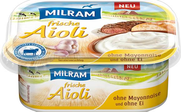 Milram Frische Aioli / DMK Deutsches Milchkontor