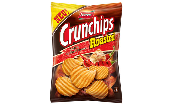 Crunchips Roasted Chili & Grilled Cheese / The Lorenz Bahlsen Snack-World