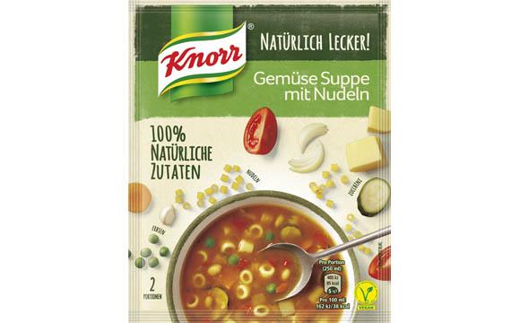 Knorr Natürlich Lecker ! 100 % Natürliche Zutaten Premiumsuppen / Unilever Deutschland