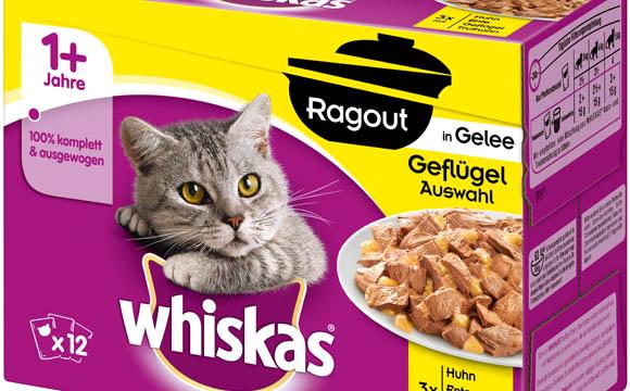Tiernahrung und -bedarf - Silber: Whiskas Ragout / Mars Petcare