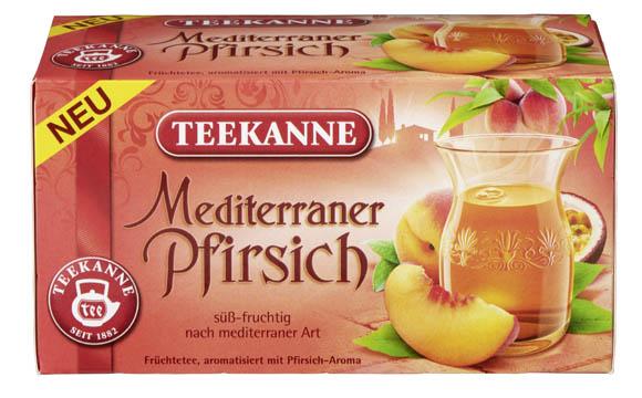 Teekanne Mediterraner Pfirsich / Teekanne