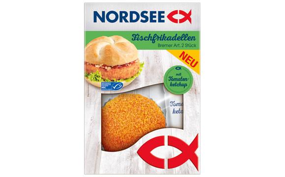 Nordsee Fischfrikadelle Bremer Art / Homann Feinkost