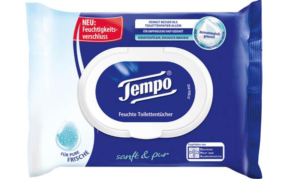 Tempo Feuchte Toilettentücher / Essity Deutschland