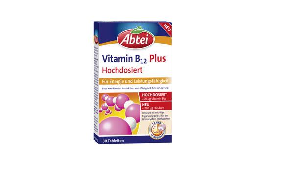 Abtei Vitamin B12 Plus / Omega Pharma Deutschland